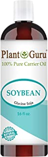 Soybean Oil 16 oz Carrier 100% Pure Natural For Skin, Body, Face, and Hair Growth. Great For Creams, Lotions, and Lip balm.
