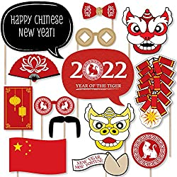 Get Chinese New Year 2019 Year of The Pig Photo Booth Props (AFFILIATE)