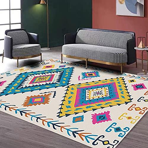 YDyun Suave Alfombra para salón Dormitorio baño sofá Silla cojín Estilo Personalizado Adecuado para la Alfombra de la Sala.