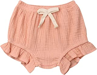 Mubineo 0-18M Newborn Unisex Baby Girls Boys Cotton Shorts Infant Diaper Cover Bloomers