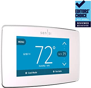 Emerson Sensi Touch Wi-Fi Smart Thermostat with Touchscreen Color Display, Works with..