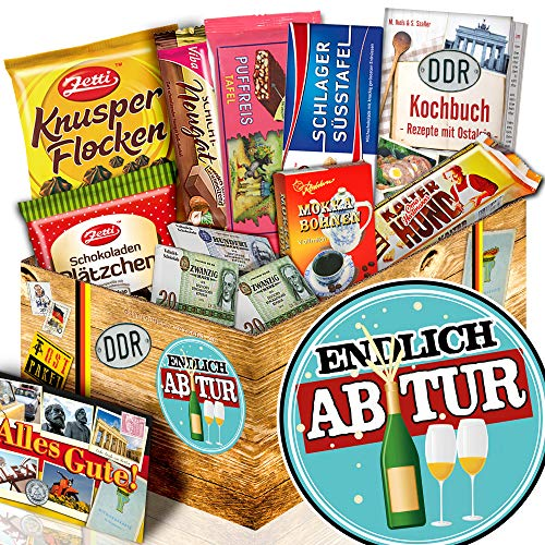 Endlich Abitur / Schokolade aus der DDR / Abitur Geschenk