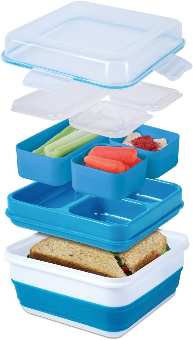 Cool Gear Ez-freeze Collapsible Bento Box (Assorted Colors)