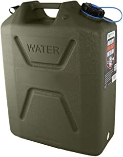"""22 Litre Heavy Duty Food Grade Water Can, Green"
