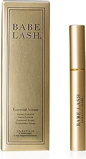Babe Lash Eyelash & Brow Enhancer Serum for Natural, Fuller & Longer Looking Eyelashes - Eyelash Booster Hydrates Lashes for Lash, Brow & Lash Extensions - 0.13 Fl Oz, 1-Pack
