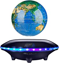 Willow S Earth Shape Levitating Bluetooth Speaker with LED Flash-Wireless Stereo Sound Floating MP3 Player photo