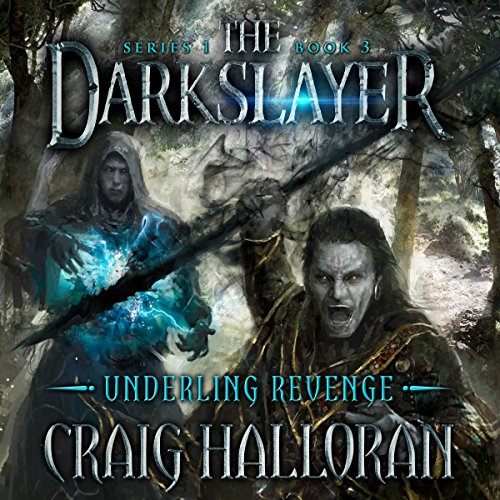 The Darkslayer audiobook cover art