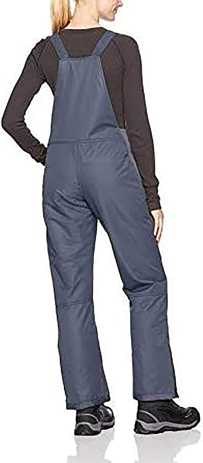 VBNG Womens Snow Pants Waterproof Essential Insulated Snow Bib Overalls One-Piece Ski Bibs Pants with Pocket