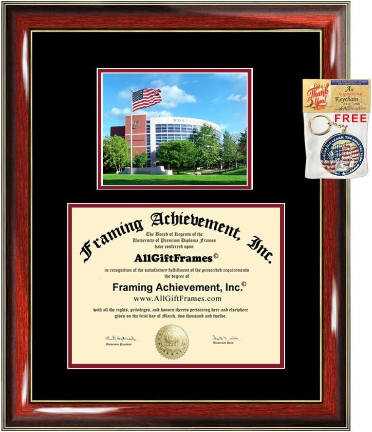 Popular overseas AllGiftFrames Northeastern University Diploma Max 73% OFF D Frame Graduation