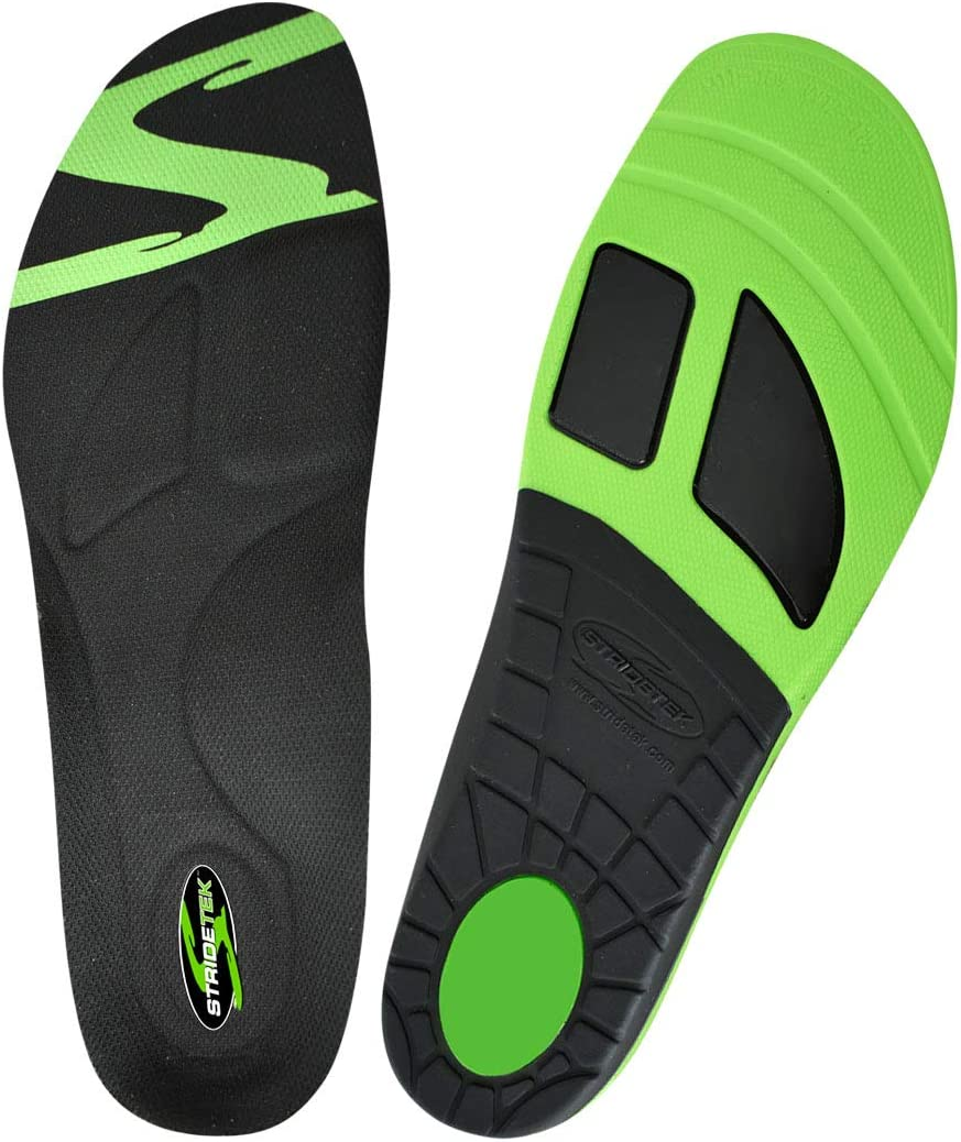 Stridetek Active Stride Orthotic Insoles Store Me PU Max 48% OFF Arch Memory -
