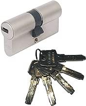ABUS EC550 cheerio-Knaufzylinder lunghezza Z35//K45mm con 8 chiavi