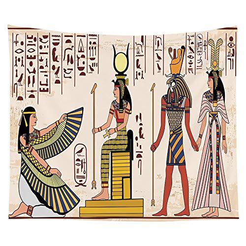 KHKH ägyptischen Stil Farbe Tapisserie für Co...