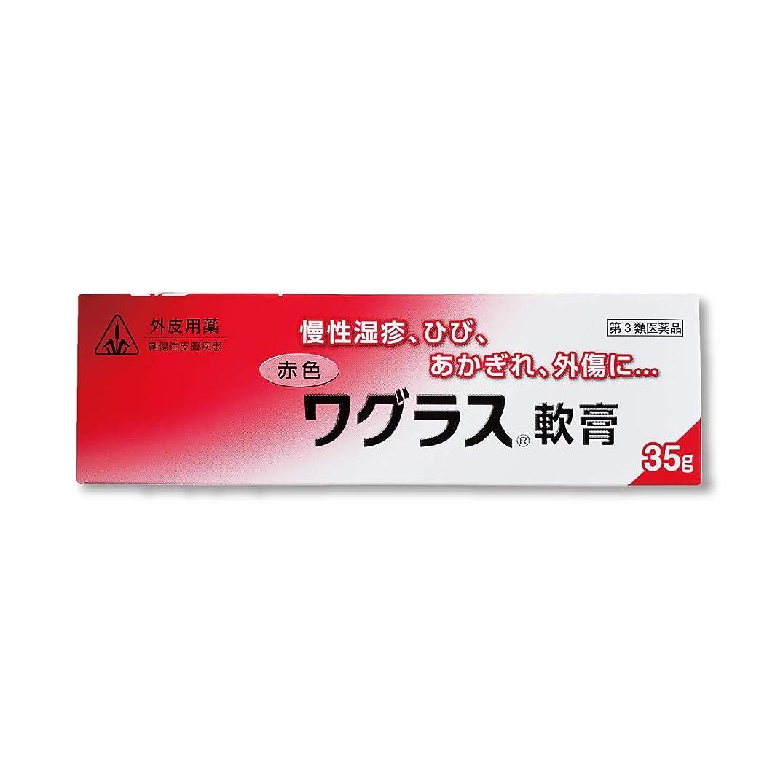 前任者ぴかぴか環境保護主義者【第3類医薬品】赤色ワグラス軟膏 35g