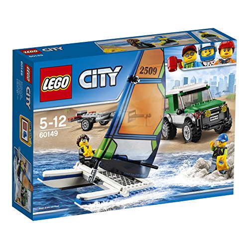 LEGO- City Great Vehicles Pick Upcon Catamarano, 60149