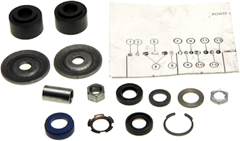 Edelmann 7874 Power Steering Complete Cylinder New York Mall Kit Charlotte Mall Rebuild
