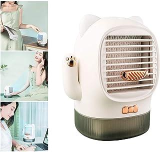 POWM Aire Acondicionado Portatil Ventilador De RefrigeracióN USB Oficina Dormitorio Escritorio PequeñO Refrigerador