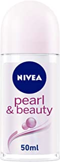 NIVEA Pearl & Beauty, Antiperspirant for Women, Pearl Extracts, Roll-on 50ml