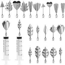 FULANDL 3D Jelly Art Tools Set, 20Pcs Stainless Steel Gelatin art tools Kit with 2Pcs Syringe, Flower Cake Decoration Tool...