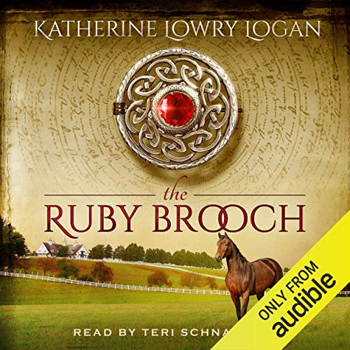 The Ruby Brooch audiobook cover art