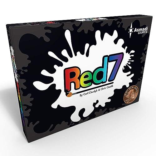 Asmadi Games ASI-0050 Red7 Card Game