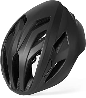 BASE CAMP ACE II Road Bike Helmet for Adult Cycling Adjustable M L Size 22 to 24.5 Inches