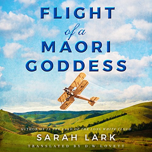 Couverture de Flight of a Maori Goddess
