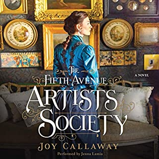 The Fifth Avenue Artists Society audiobook cover art