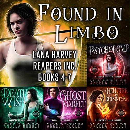 Found In Limbo Audiobook By Angela Roquet cover art