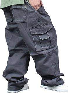 [ネルロッソ] ワイドパンツ メンズ カーゴパンツ ロング 大きいサイズ ゆったり 大きめ 太め ボトムス 正規品 cmi24118