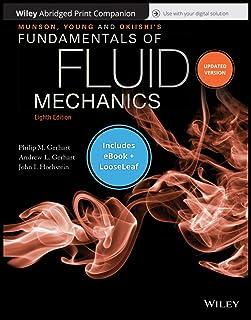 Munson, Young and Okiishki's Fundamentals of Fluid Mechanics, 8e Abridged Print Companion and Wiley E-Text Reg Card Set