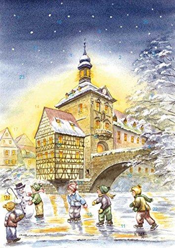 Adventskalender Bamberg - Altes Rathaus, Winterfreuden auf der Regnitz