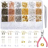 PP OPOUNT 2463 Pieces Earring Making Supplies Kit with Earring Hooks, Jump Rings,...