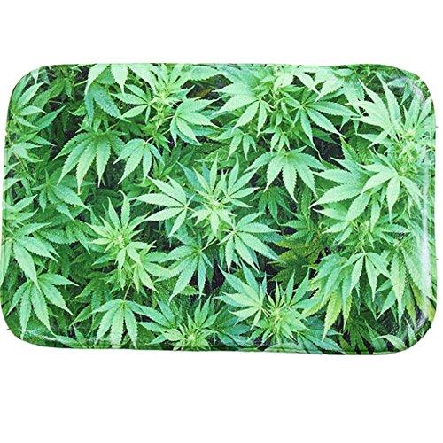 O-C Cannabis Tree Outdoor Indoor Antiskid Absorbent Bedroom Livingroom Bath Mat Bathroom Shower Rugs Doormats