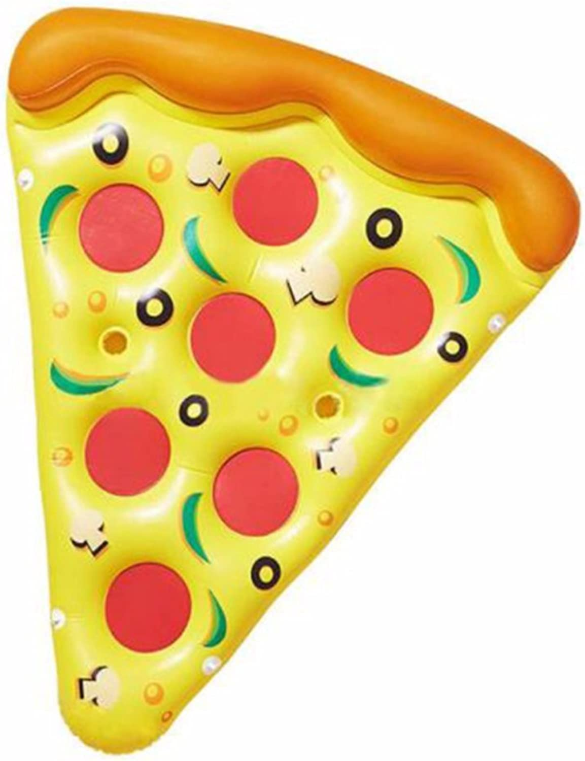 Mzj Riesen Aufblasbare Pizza Slice Pool Float, Spa Pool Float, Schwimmen Party Spielzeug, Sommer Pooling (1 Packung)