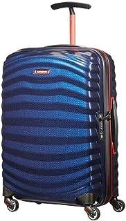 Samsonite Lite-Shock Sport Small/Cabin 55cm Hardsided Suitcase - Nautical Blue/Red