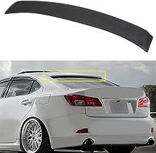 Ineedup ABS Rear Wing Spoiler Automotive Body Styling Kits Fits: for Lexus IS250 4-door 2.5L