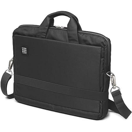 """Moleskine ET73DBH15BK ID Collection Borsa a Tracolla Orizzontale Device Bag per Pc, Tablet, Notebook, Laptop e iPad fino a 15"""", Dimensioni 40 x 9.5 x 31 cm, Colore Nero"""