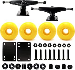 VJ 5.0 Skateboard Trucks, Skateboard Wheels 52mm, Skateboard Bearings, Skateboard Pads, Skateboard Hardware 1
