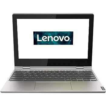 Lenovo Chromebook C340 Laptop 29,5 cm (11,6 Zoll, 1366x768, HD, IPS, Touch) Convertible Notebook (Intel Celeron N4000, 4 GB RAM, 64GB eMMC, Intel UHD-Grafik 600, ChromeOS) silber