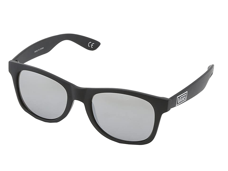 c993a703175 Vans Spicoli 4 Shades (Matte Black Silver Mirror) Sport Sunglasses