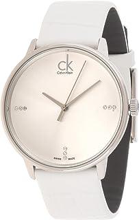 Calvin Klein Dress Watch For Men Analog Leather - K2Y2X1KW
