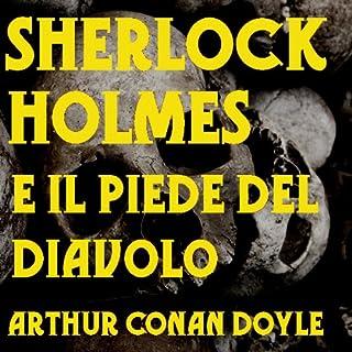 Sherlock Holmes e il piede del Diavolo copertina
