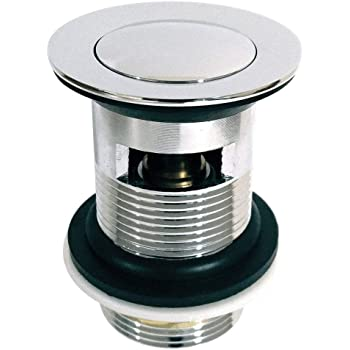 3x Sink Waste Basin Plug Ring Seal Click Clack Bathroom Pop Up Spare Seal Washer