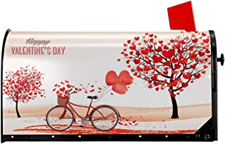 decorate mailbox for valentines day
