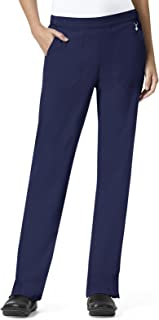 Halo By Vera Bradley Women's Matilde Elastic Quilted Waistband Scrub Pant