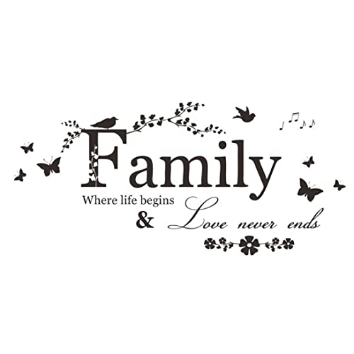 Family Quotes Wall Stickers Amazoncouk