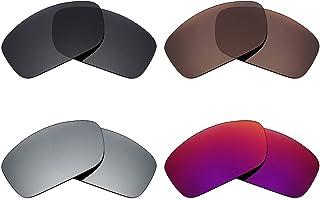 3847e7cbae Mryok - Lentes polarizadas de repuesto para gafas de sol Oakley Canteen  2014 (4 pares