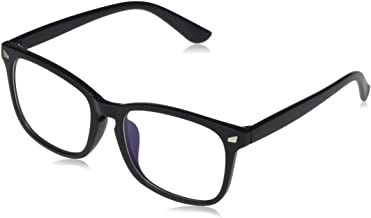 Sponsored Ad - Amazon Essentials Unisex Blue Light & UV400 Blocking Glasses, Non Prescription
