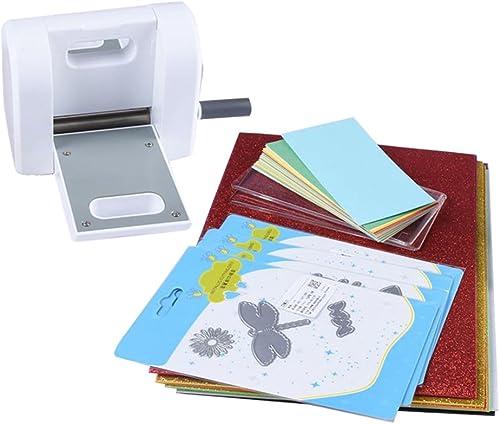 genuina alta calidad Fenteer Troqueladora Adecuado para Hacer Hacer Hacer Tarjetas Invitaciones Páginas de álbumes de Recortes de Bricolaje Manual  marca en liquidación de venta