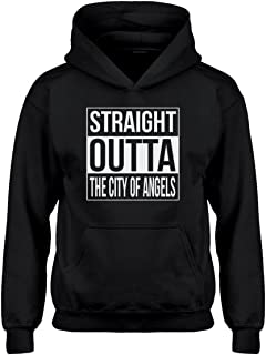 Indica Plateau Straight Outta The City of Angels Hoodie for Kids